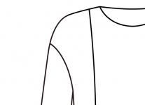 ドロップ袖