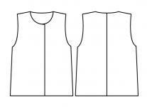 裾型_直線