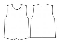 裾型_スペンサー